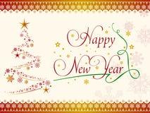 Fondo de la mesa de la Feliz Año Nuevo Imágenes de archivo libres de regalías