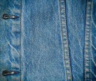 Fondo de la mezclilla del dril de algodón Imagen de archivo libre de regalías