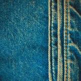 Fondo de la mezclilla del dril de algodón Imagen de archivo