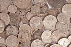 Fondo de la moneda Imagen de archivo libre de regalías