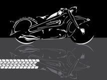 Fondo de la moto Fotos de archivo libres de regalías