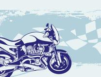 Fondo de la motocicleta Imágenes de archivo libres de regalías