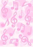 Fondo de la música Fotos de archivo libres de regalías