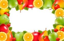 Fondo de la naturaleza hecho de la fruta madura deliciosa libre illustration