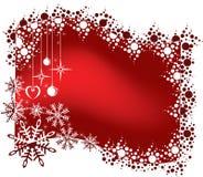 Fondo de la Navidad. stock de ilustración