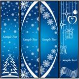 Fondo de la Navidad. ilustración del vector