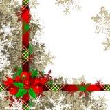 Fondo de la Navidad Imagenes de archivo