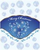 Fondo de la Navidad Fotos de archivo