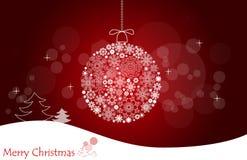 Fondo de la Navidad. Foto de archivo