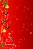 Fondo de la Navidad Fotografía de archivo