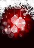 Fondo de la Navidad Foto de archivo