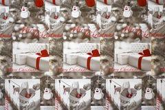 Fondo de la Navidad. Fotografía de archivo libre de regalías