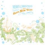 Fondo de la Navidad. Foto de archivo libre de regalías