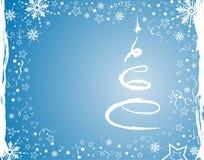 Fondo de la Navidad stock de ilustración