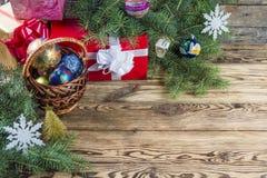 Fondo 08 de la Navidad Foto de archivo libre de regalías