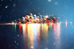 Fondo de la Navidad, Foto de archivo libre de regalías