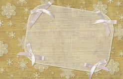 Fondo de la Navidad Foto de archivo libre de regalías