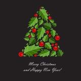 Fondo de la Navidad abstracta de la belleza y del Año Nuevo Fotos de archivo libres de regalías