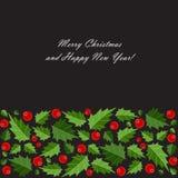 Fondo de la Navidad abstracta de la belleza y del Año Nuevo Foto de archivo
