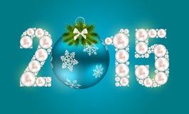 Fondo de la Navidad abstracta de la belleza y del Año Nuevo Foto de archivo libre de regalías