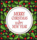 Fondo de la Navidad abstracta de la belleza y del Año Nuevo Fotografía de archivo libre de regalías