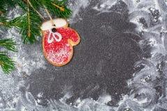 Fondo de la Navidad abstracta y del Año Nuevo Foto de archivo libre de regalías