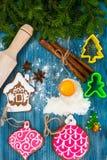 Fondo de la Navidad abstracta y del Año Nuevo con madera vieja del vintage Fotos de archivo