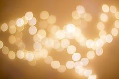 Fondo de la Navidad de Bokeh Imagen de archivo libre de regalías