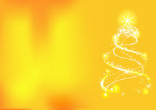 Fondo de la Navidad con el árbol Libre Illustration
