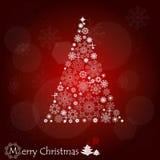 Fondo de la Navidad con el árbol de navidad. Imágenes de archivo libres de regalías