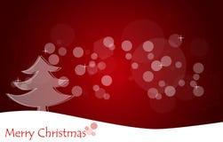 Fondo de la Navidad con el árbol de navidad. Fotografía de archivo libre de regalías
