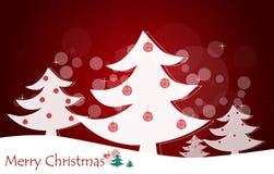 Fondo de la Navidad con el árbol de navidad. Foto de archivo