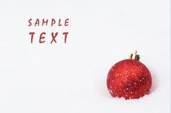 Fondo de la Navidad con el espacio para el texto Imagen de archivo libre de regalías