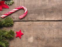 Fondo de la Navidad con el espacio para el texto Imágenes de archivo libres de regalías