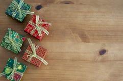Fondo de la Navidad con el espacio para escribir el mensaje foto de archivo libre de regalías