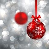 Fondo de la Navidad con las chucherías Imágenes de archivo libres de regalías