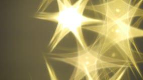 Fondo de la Navidad con las estrellas y los rayos brillantes stock de ilustración