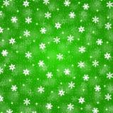 Fondo de la Navidad con los copos de nieve Imagen de archivo libre de regalías