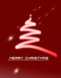 Fondo de la Navidad con los ornamentos Fotografía de archivo