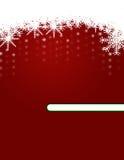 Fondo de la Navidad con los ornamentos Fotos de archivo