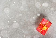 Fondo de la Navidad con los regalos Imagen de archivo libre de regalías