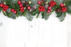 Fondo de la Navidad de la fantasía Foto de archivo
