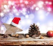 Fondo de la Navidad, decoración de la Navidad Imagenes de archivo