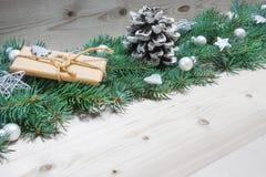 Fondo de la Navidad, decoración de la Navidad Imagen de archivo libre de regalías