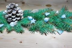 Fondo de la Navidad, decoración de la Navidad Imágenes de archivo libres de regalías
