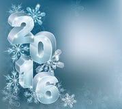 Fondo de la Navidad del Año Nuevo 2016 Fotos de archivo libres de regalías