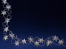 Fondo de la Navidad del color azul marino Fotos de archivo libres de regalías