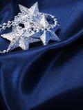 Fondo de la Navidad del color azul marino Foto de archivo libre de regalías