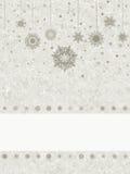 Fondo de la Navidad del copo de nieve del vector. EPS 8 Fotos de archivo libres de regalías