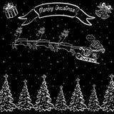 Fondo de la Navidad del día de fiesta Imágenes de archivo libres de regalías
